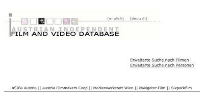 FilmVideo.at - Austrian Independent Film and Video Database