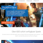Playstation Now Cloud-Gaming Services